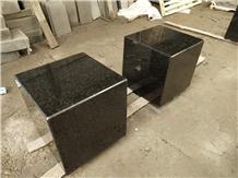 China Hebei Black G694 Granite Polishing Chair