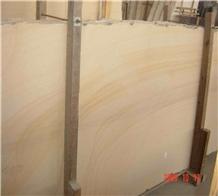 China Yellow Sandstone Slab Flooring Wall Tiles