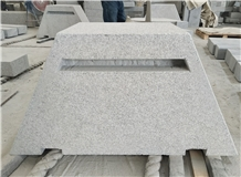 G623 Chinese Grey Granite Bush Hammered Curbstone
