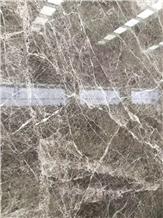 Hermes Grey Ash Gray Marble Polished Slabs & Tiles