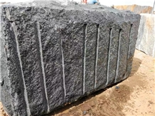 India Black Granite Blocks Polished Slabs Monument