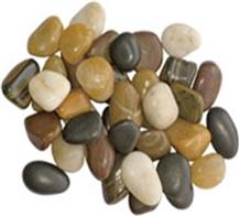 Mix Color Polished Pebble Stone Colorful Pebbles