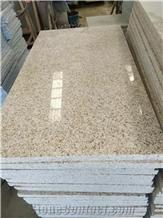 New Yellow Rust G682 Granite & Slabs Tiles