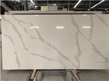 Artificial Stone Calacatta White Quartz Countertop
