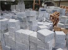 Sadarali Grey Granite Cobblestone, Pavers