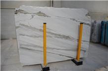 Amore Bianco Statuario Marble Slabs, Turkey White Marble