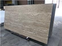 Wall Thin Travertine Beige Aluminum Panel Backer
