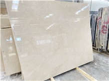 Ottoman Beige Marble Slabs - Crema Barla Polished Slabs & Tiles