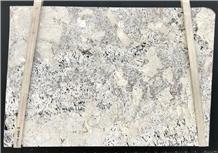 Alps White Granite Slabs, Brazil White Granite