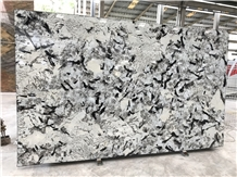 Swiss Alps Granite Slabs, Brazil White Granite