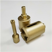 Diamond Brazing Core Drill Bits for Dry Drilling
