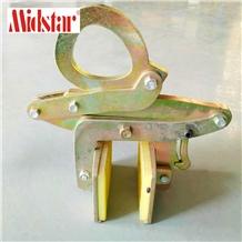 Manual Lifting Tool Scissor Slab Clamps Elevating