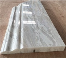 Crarrara White Marble Skirting Board