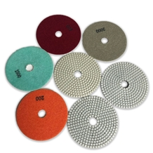 Wet Polishing Pads for Marble Granite Surface