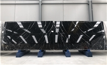 Nero Marquina Marble Tiles & Slabs