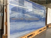 Azul Macaubas Blue Quartzite Tiles Slabs