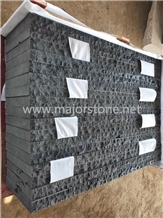 Black Basalt/Split/Natural Finish/Strip/Lines