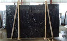 Black Marquina, Nero Marquina, Marble Slabs