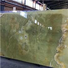 Persian Green Onyx Slabs
