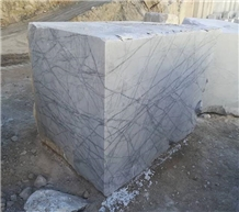 White Spider Marble Blocks