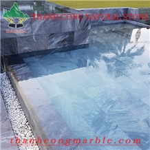 Cloudy Bluestone Swimming Pool Tiles