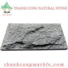 Crystal Black Marble Mushroom Stone