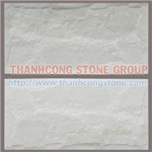Ivory White Marble Mushroom Wall Stone