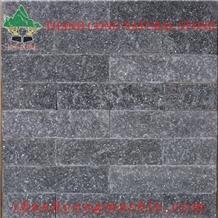 Silver Black Cladding Mushroom Stone