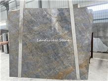 Blue Siena Portfolio Laminated Stone Wall Panels