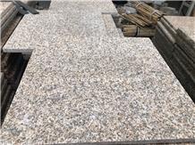 Cheap Rusty Yellow Beige Granite Floor Stone Tiles