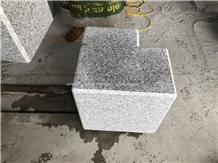 Light Grey Granite Stone Road Bollard Parking Ball