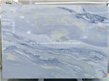 Lumen Marble Acqua Marina Blue