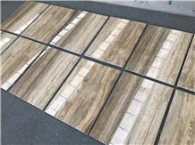 Travertino Silver Grey Mic Slab Tile Walling Floor