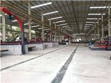 Laser Bridge Block Cutting Machine Guild Columns