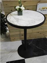 Calacatta White Marble Coffee Table