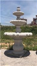 Outdoor Landscaping Sculpture Fountain Granite