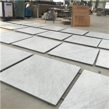 White Carrara Laminated with Honeycomb Panels