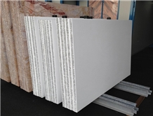 White Marble Tile Stone Honeycomb Panels
