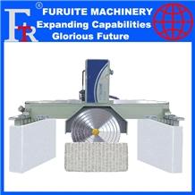 Stone Block Cutting Machine with Horizontal Blade