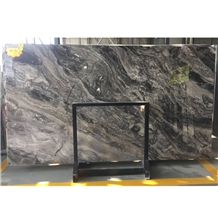 Frappuccino Brown Marble Pattern Slabs