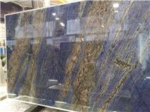 Natural Stone Of Dream Sapphire Blue Granite Slabs