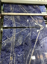 Polished Extreme Blue Rio Granite Slabs