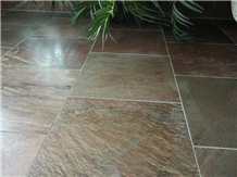 Best Quality Polished Copper Slate Tiles