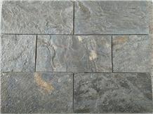 Deoli Green Slate Tiles, Gold Green Slate
