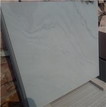 Kandla Grey Smooth Sandstone Sawn Cut Slabs