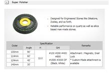 Diaflx Super Polisher for Engineered Stones