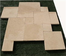 Tumbled French Pattern Limestone Floor Tiles