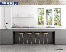 Quartz Based Engineered Kitchen Worktops Vicostone