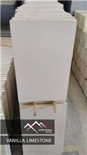 White Limestone Slab, Tile