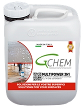 Multipower 3n1 - Alkaline Based Detergent 3 N 1 for Stone and Hard Surfaces